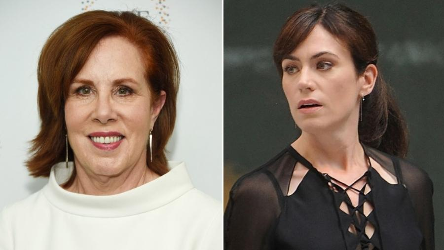 """Denise Shull (à esquerda) e dra. Wendy Rhoades, de """"Billions"""" - Getty Images/Reprodução"""
