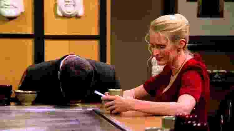 """Ross e Carol em cena de """"Friends"""" - Reprodução - Reprodução"""