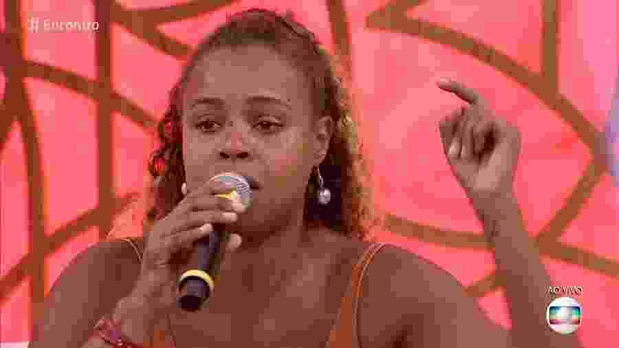 """Roberta Rodrigues no """"Encontro"""" - Reprodução/Globo"""