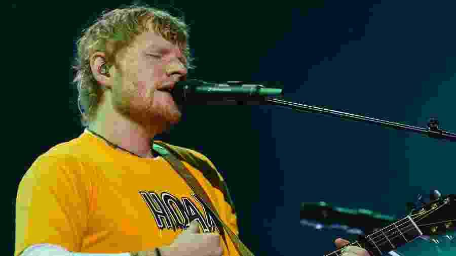 Ed Sheeran apresenta a turnê Divide para São Paulo - Flavio Moraes/UOL