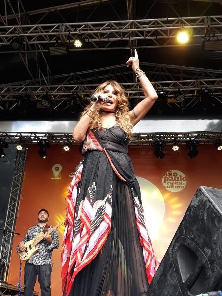 Elba Ramalho em show da Virada Cultural - Felipe Branco Cruz/UOL