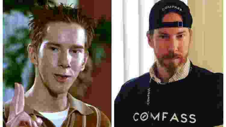 Chris Owen em American Pie e atualmente - Fotos: Divulgação/Montagem: UOL - Fotos: Divulgação/Montagem: UOL