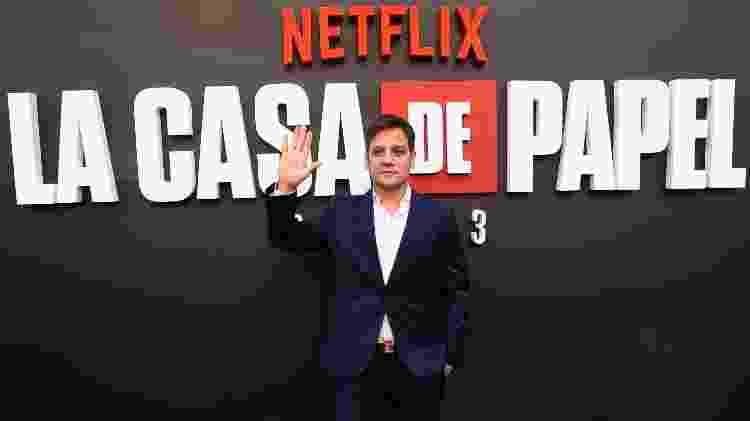 Rodrigo de la Serna participa da pré-estreia de La Casa de Papel 3, em Madri - Pablo Cuadra/Getty Images