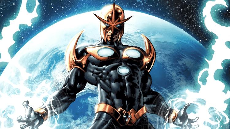 O herói Nova, da Marvel - Reprodução