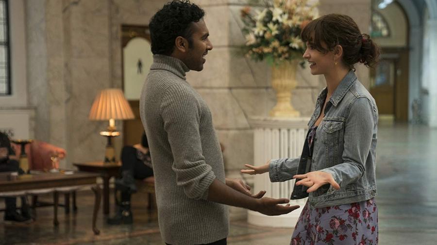Himesh Patel e Lily James em cena de Yesterday (2019) - Divulgação