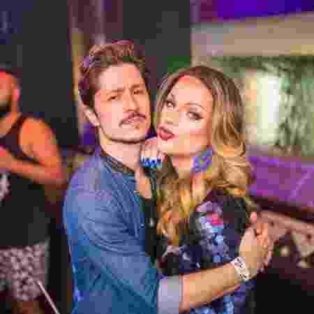 Rafael Vieira e a drag queen Lorelay Fox - Reprodução/Instagram - Reprodução/Instagram