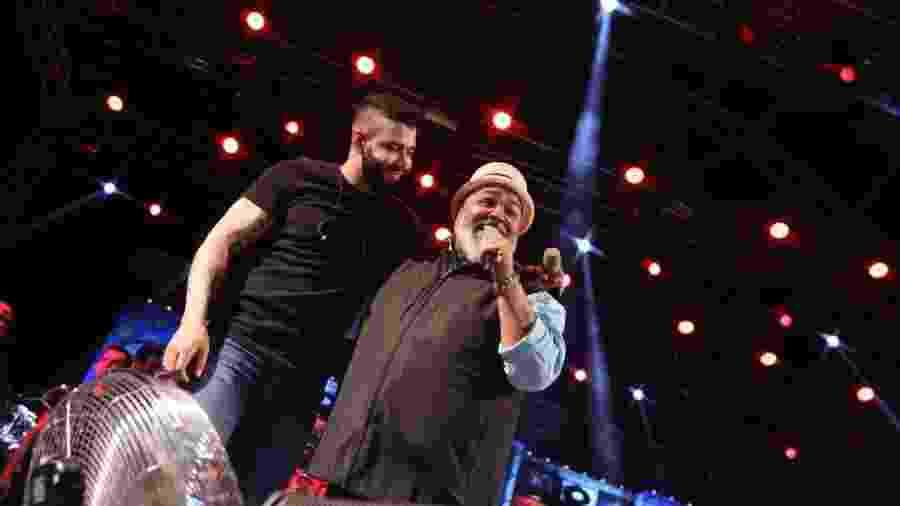 Gusttavo Lima canta com Jorge Aragão - Divulgação