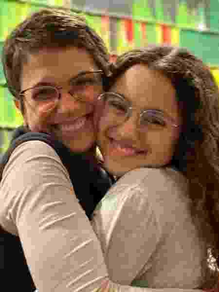 Sandra Annenberg e a filha, Elisa - Reprodução/Instagram