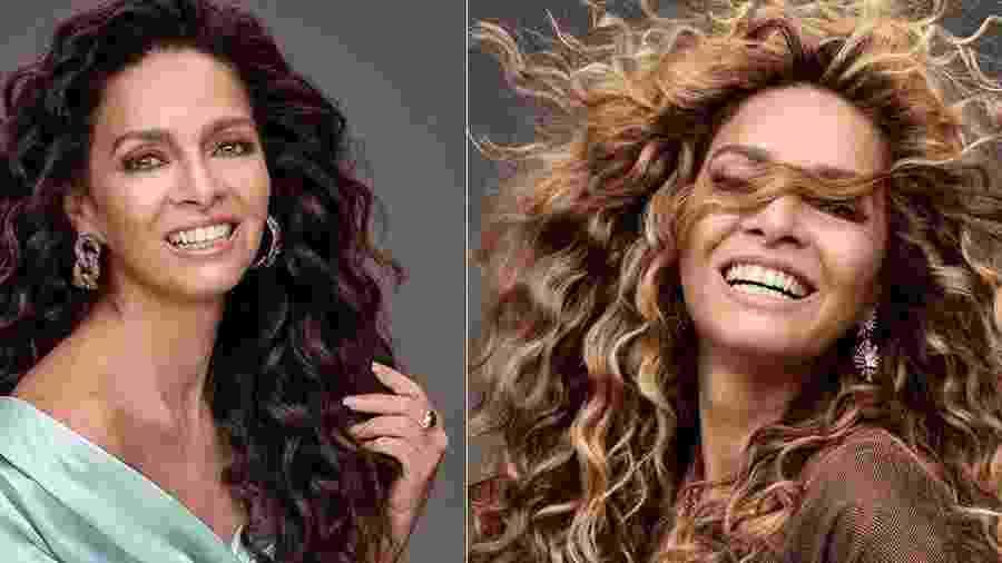 Claudia Ohana mostrou a transformação nos cabelos após tingir os fios de loiro - Reprodução/Instagram