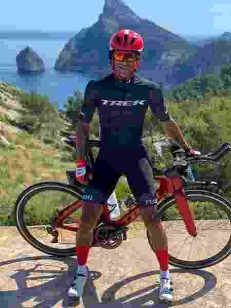 Thiago Vinhal, bike - Divulgação - Divulgação