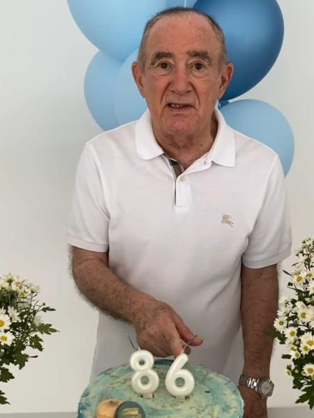 Renato Aragão comemorou os 86 anos de vida - Reprodução/Instagram