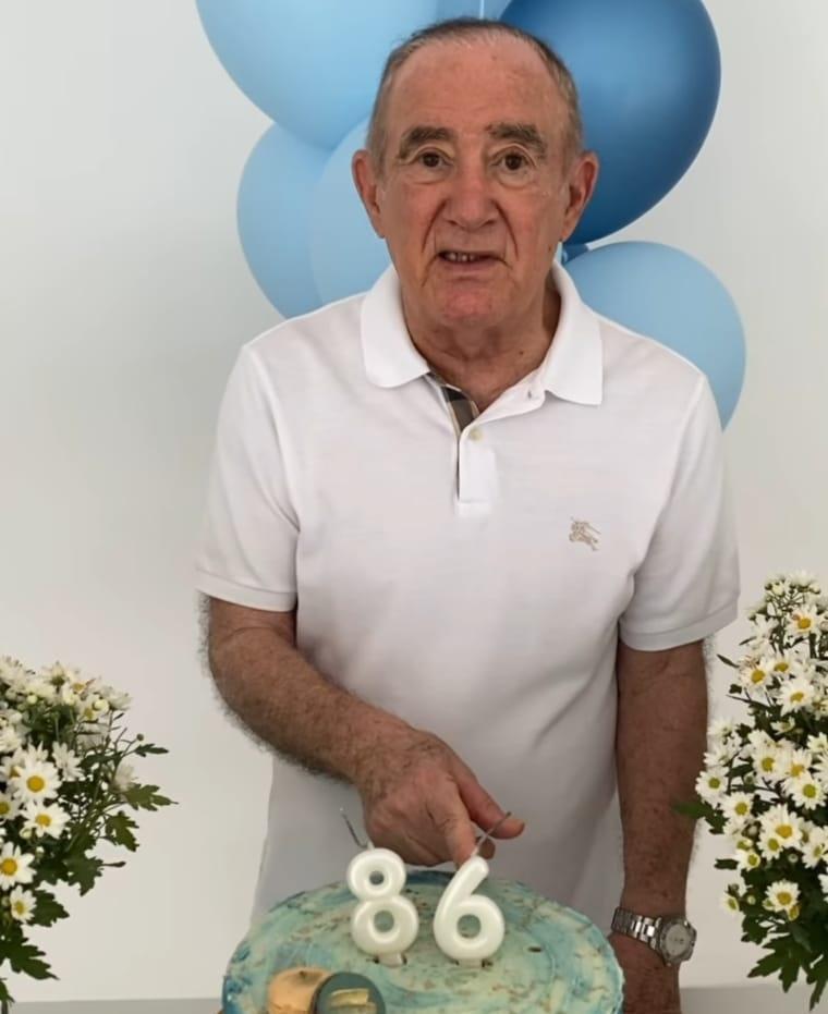 Renato Aragão comemora os 86 anos de vida