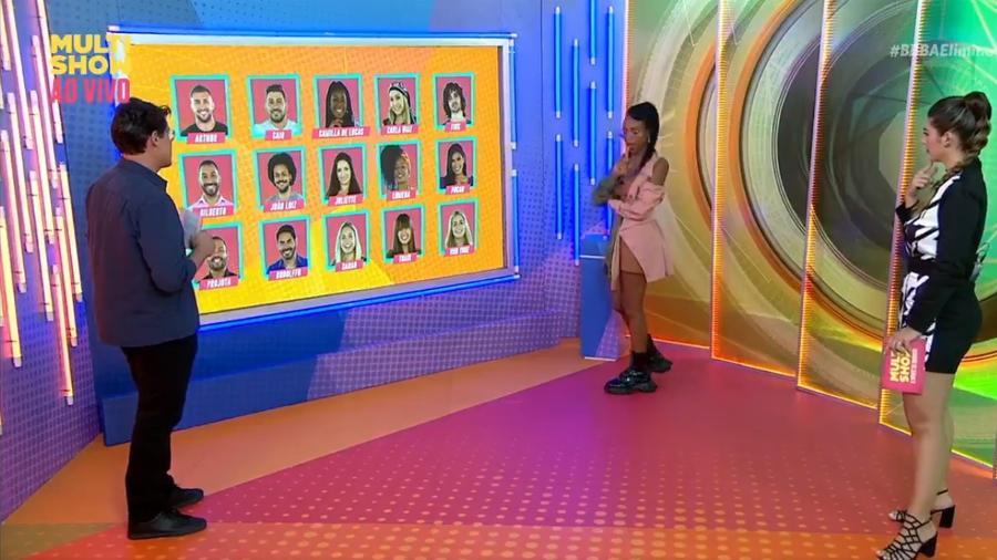 BBB 21: Karol fala quem vai sair do programa - Reprodução/Multishow