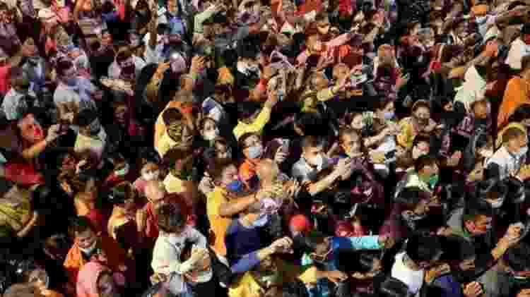 Há temores de que o evento funcione como super propagador do vírus - Getty Images - Getty Images