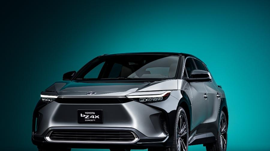 Toyota bZ4X conceito - Divulgação