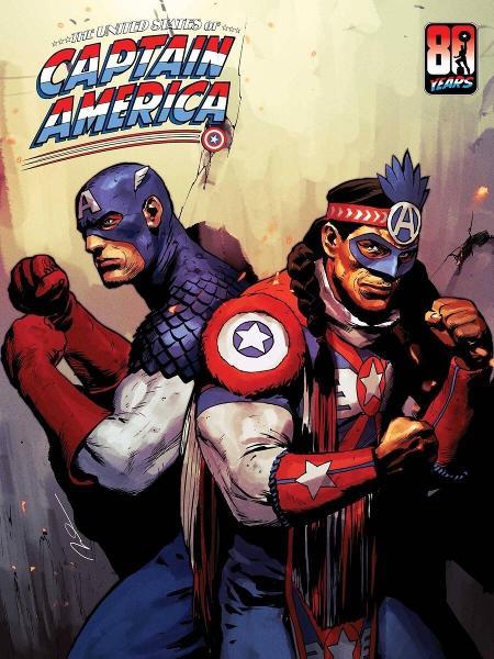 Apresentação da versão indígena do Capitão América - Divulgação/Marvel