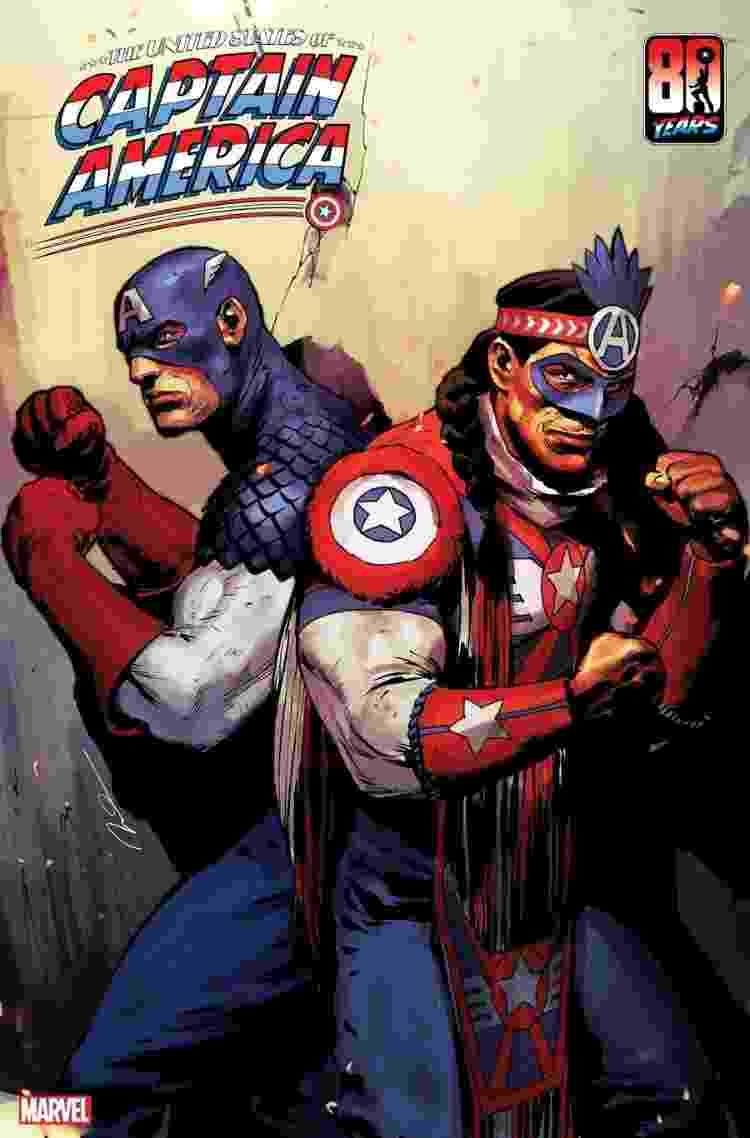 Apresentação da versão indígena do Capitão América - Divulgação/Marvel - Divulgação/Marvel