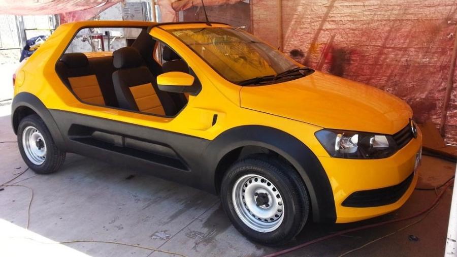 VW Gol Buggy - Reprodução