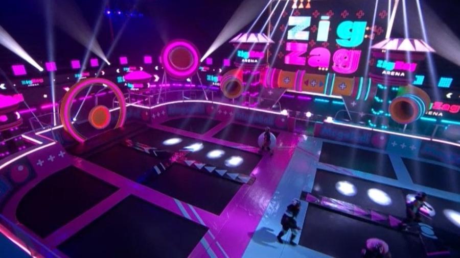 """Palco do """"Zig Zag Arena"""", novo programa de Fernanda Gentil - TV Globo"""