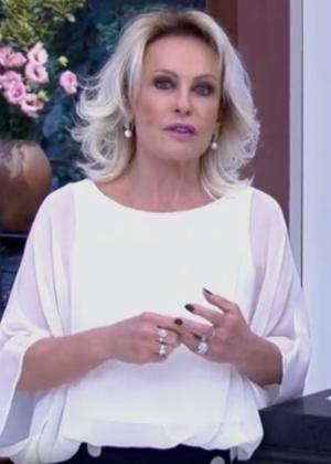 Ana Maria Braga fala sobre atentado sofrido por Ana Hickmann e manifesta seu apoio à apresentadora - Reprodução/Globo