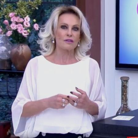Ana Maria Braga presta homenagem à cidade de São Paulo - Reprodução/Globo