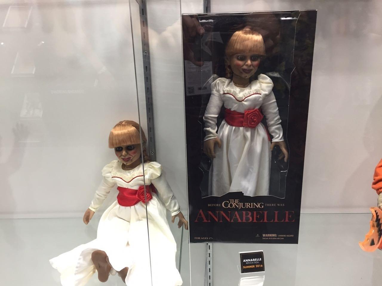 Annabelle e seu vestido é um dos brinquedos exibidos na San Diego Comic-Con 2016