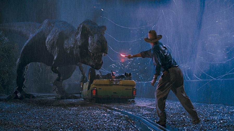 """Cena do filme """"Jurassic Park: O Parque dos Dinossauros"""" (1993), de Steven Spielberg - Reprodução"""