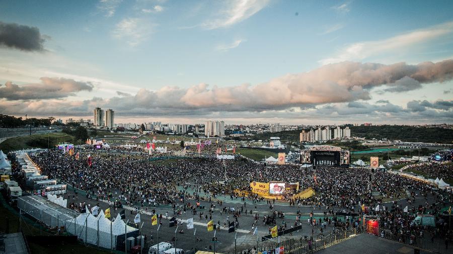 Festival Lollapalooza ocorreu no último fim de semana, no autódromo de Interlados, em SP - Bruno Santos/UOL