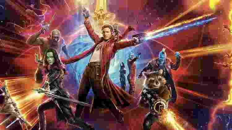 """Pôster de """"Guardiões da Galáxia Vol. 2"""", de James Gunn - Reprodução - Reprodução"""