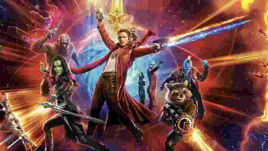 """Pôster de """"Guardiões da Galáxia Vol. 2"""", de James Gunn - Reprodução"""