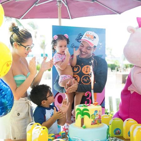 Wesley Safadão comemora o aniversário da filha - Reprodução/Instagram