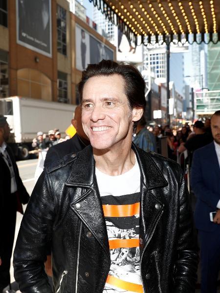 Jim Carrey fez série de ataques ao presidente norte-americano - REUTERS/Mark Blinch
