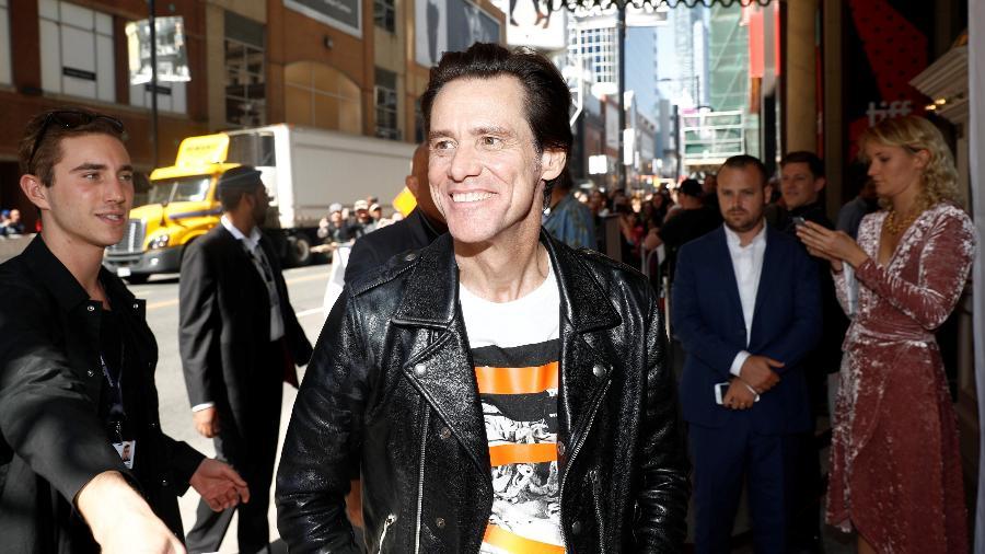 Jim Carrey no Festival Internacional de Toronto - REUTERS/Mark Blinch
