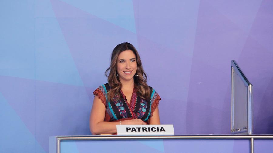 Patrícia Abravanel puxou a orelha do pai durante programa - Lourival Ribeiro/Divulgação