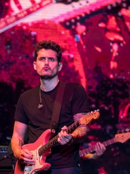 Cantor John Mayer se apresenta no Allianz Parque, em São Paulo - Simon Plestenjak/UOL
