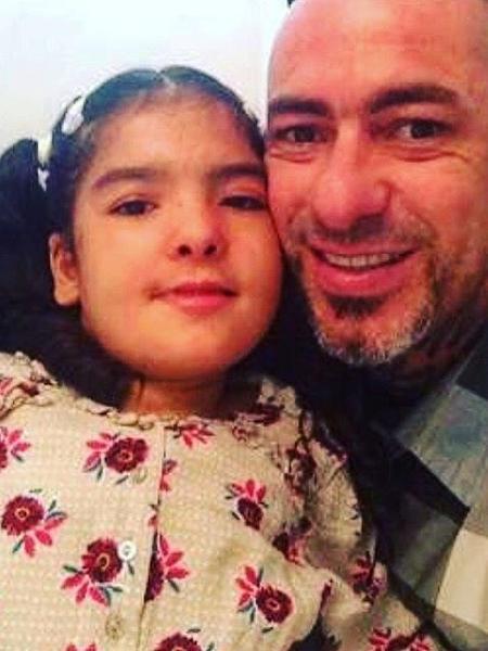 Olívia e o pai, Henrique Fogaça - Reprodução/Instagram