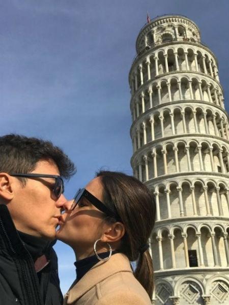 Vera Viel e Rodrigo Faro curtem viagem pela Itália com as filhas - Reprodução/Instagram