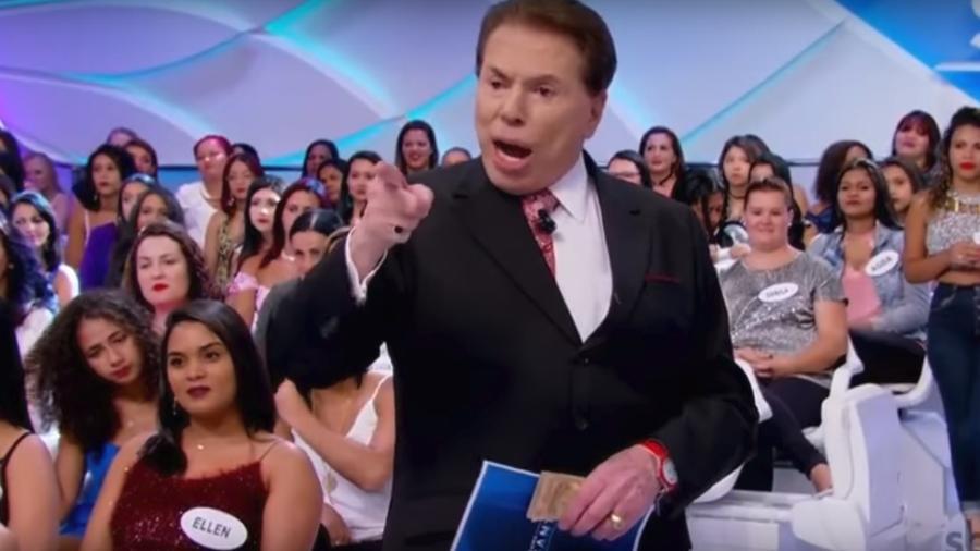 Silvio Santos reclamou de Mara - Reprodução/SBT