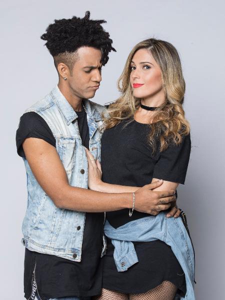 """Por causa das discussões, Nadja e D""""Black tornaram-se os participantes mais populares do """"Power Couple"""" - Edu Moraes/Divulgação/Record"""