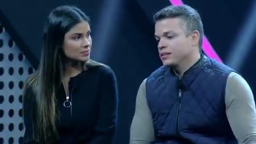 """Anderson Felício admite que errou em briga no """"Power Couple Brasil"""" - Reprodução/Record"""