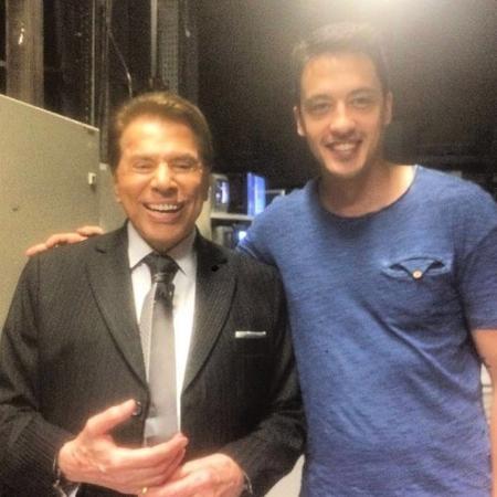 Felipe Dalle, dono do bar Mahôe, conheceu Silvio Santos em 2015 - Felipe Dalle/Arquivo pessoal