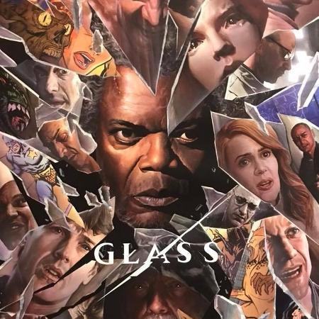 """Cartaz do filme """"Vidro"""" (""""Glass""""), de M. Night Shyamalan - Divulgação"""
