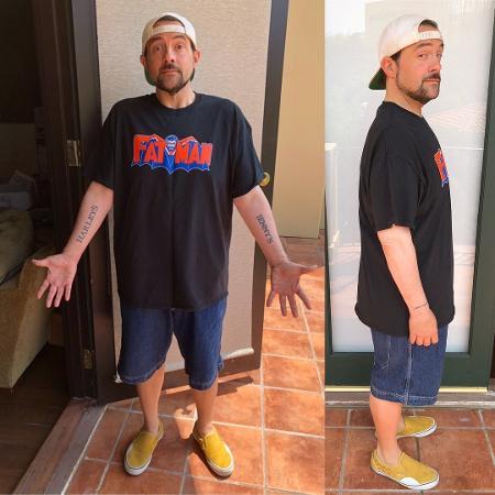 Kevin Smith depois de emagrecer 23 kg - Reprodução/Divulgação