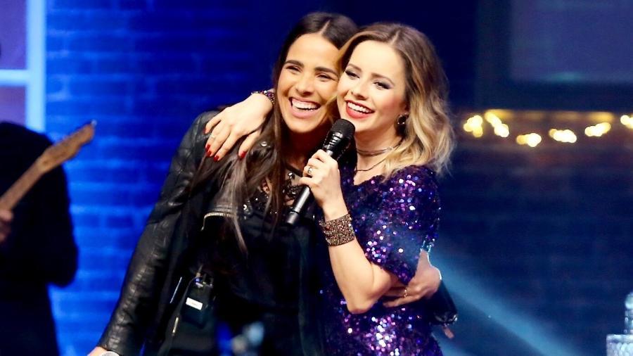 Sandy e Wanessa cantam juntas em São Paulo - Manuela Scarpa/Brazil News