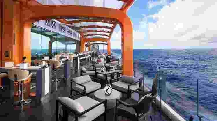 Navio Celebrity Edge - Divulgação/Celebrity Cruises - Divulgação/Celebrity Cruises