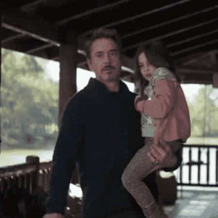 Tony Stark (Robert Downey Jr.) em cena de Vingadores: Ultimato - Reprodução