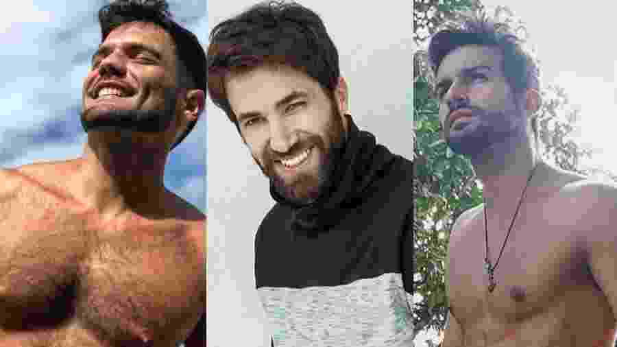Betto Marque, Rafael Queiroz e Bruno Bevan se destacam em A Dona do Pedaço - Colagem/UOL