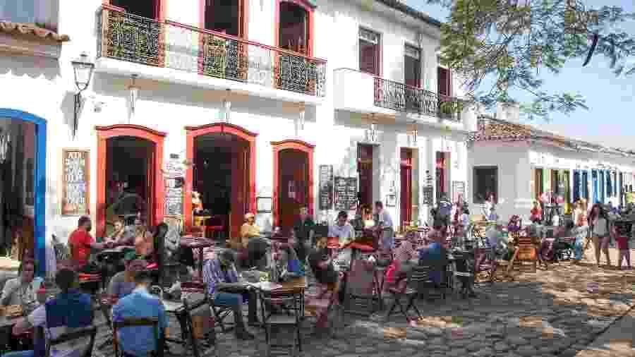 Centro Histórico de Paraty, no Rio de Janeiro - iStock