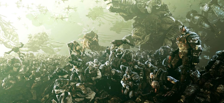 """""""Gears of War"""" tem um respeitável bestiário  - Divulgação"""