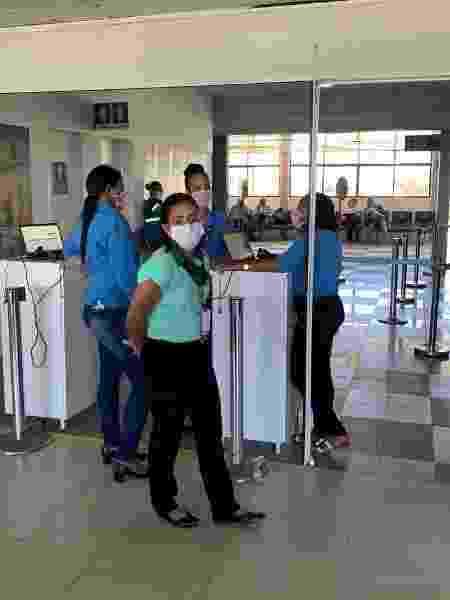 Aeroporto de Noronha - Arquivo pessoal - Arquivo pessoal